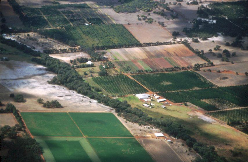 Horticulture Land Management - Aerial